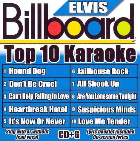 BILLBOARD KAROAKE:BILLBOARD ELVIS TOP (CD)